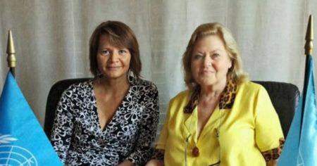 Foto scattata durante l'incontro con Simone Ovart a Torino, presso la sede UN Woman